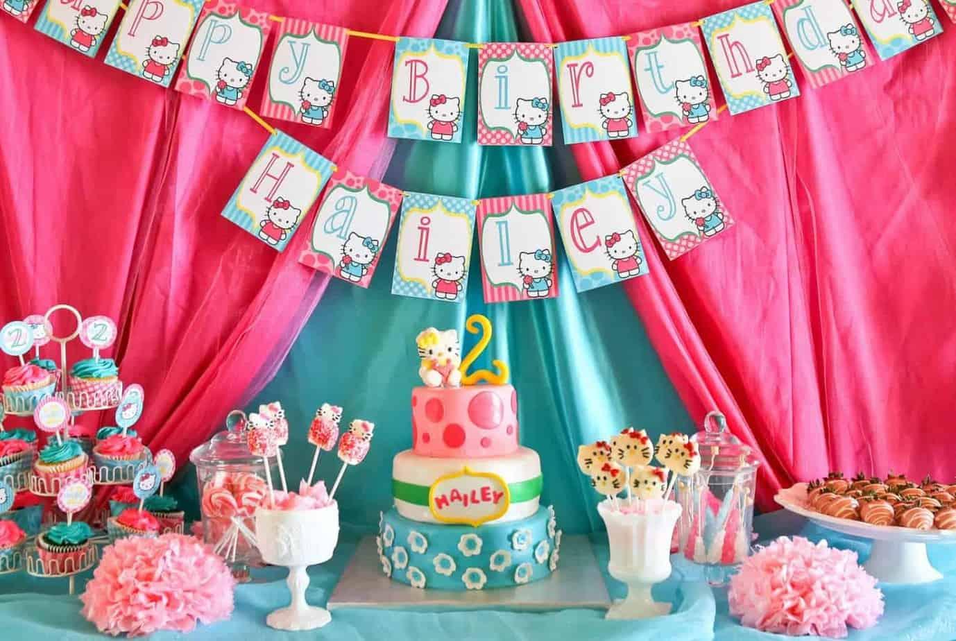 Hello Kitty Party Sweet Kitty Treats Mimis Dollhouse