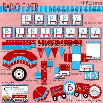 Radio Flyer Blue display file