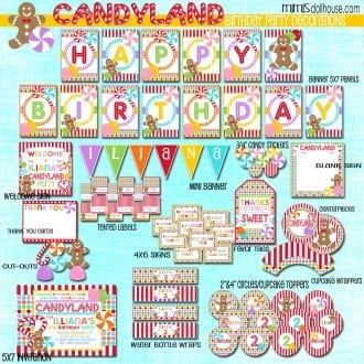 candy land display file