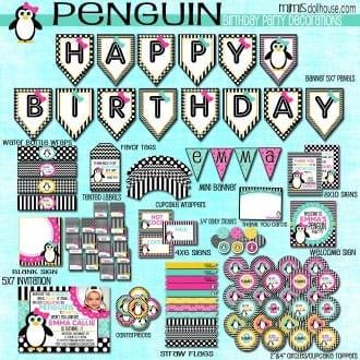 penguins display pic