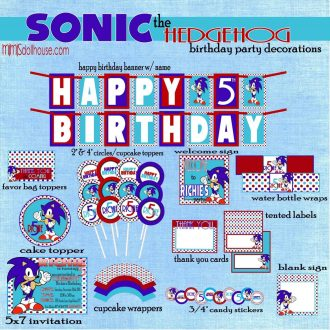 sonic full party pic