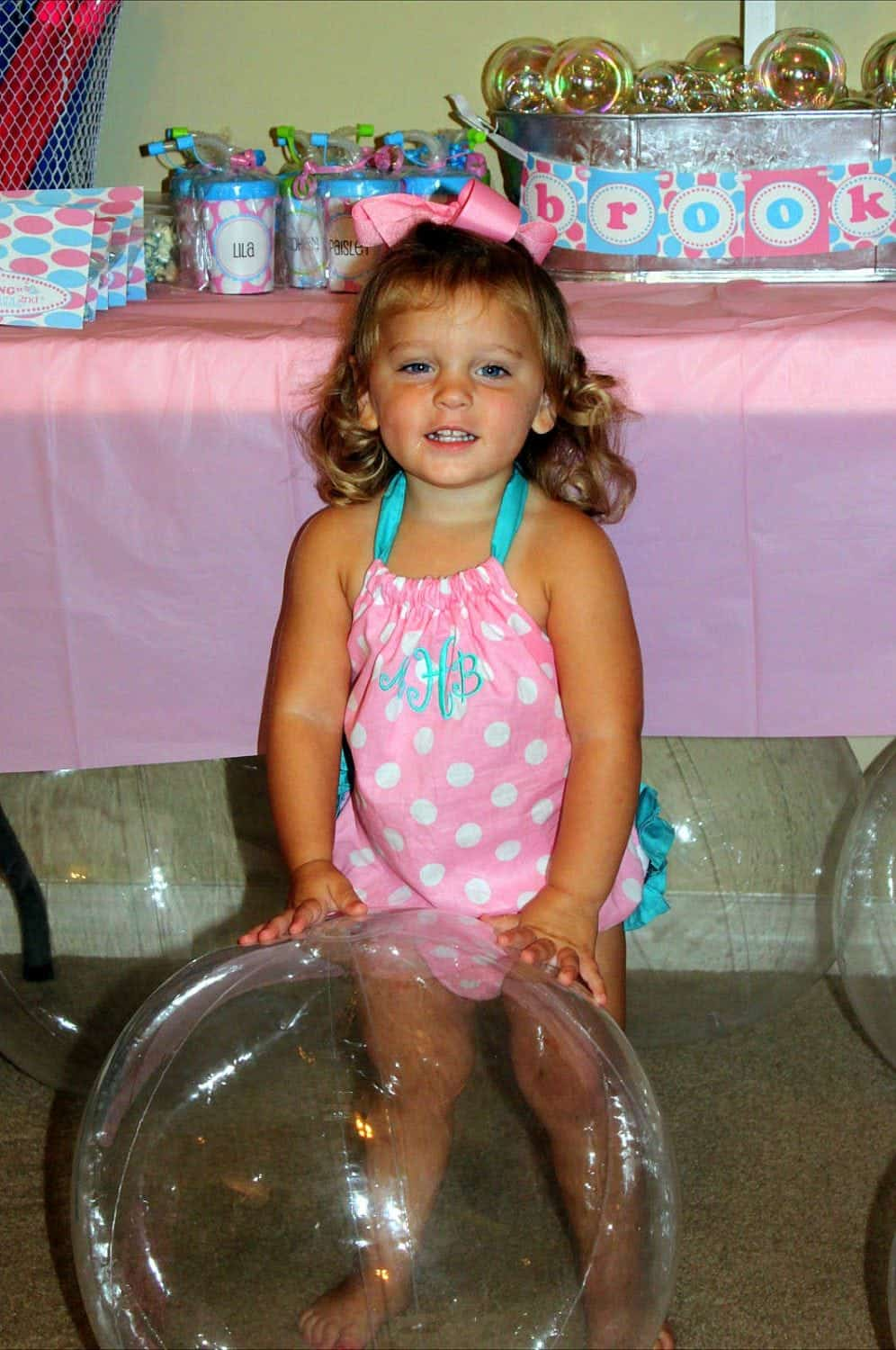 {REAL PARTY} Brooke's Bubblicious 2nd Birthday