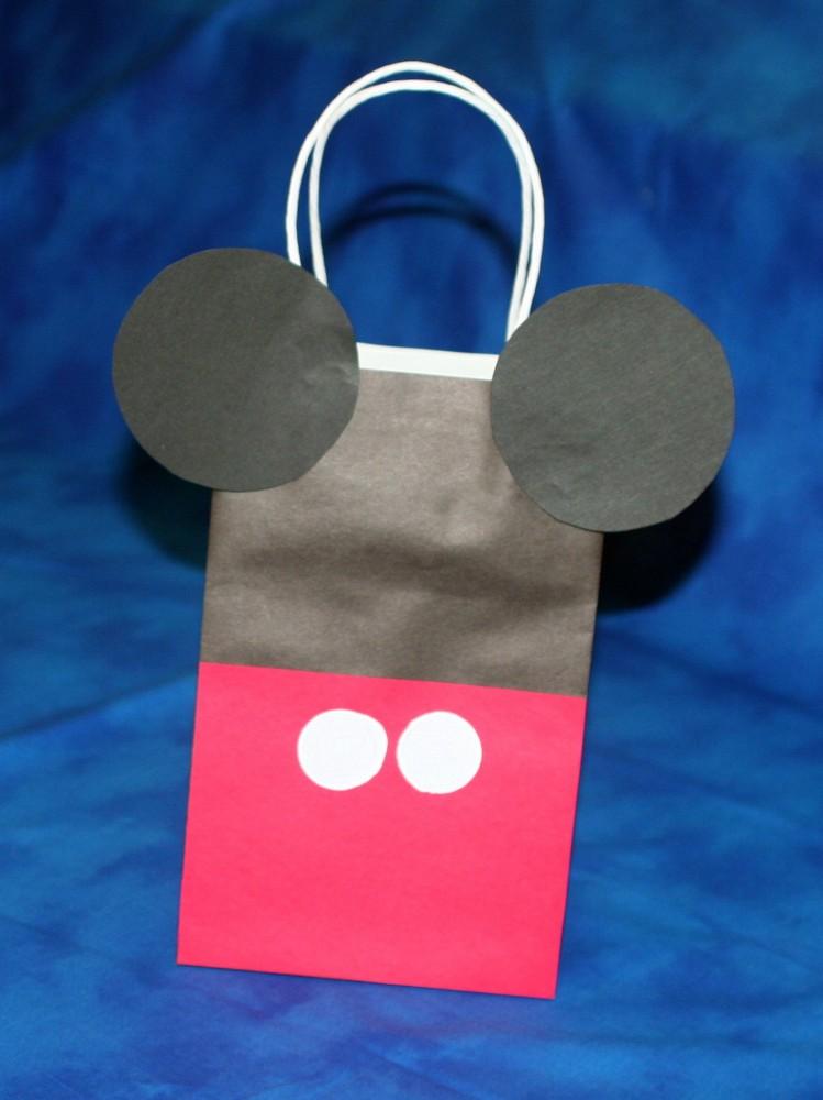 Diy Mickey Mouse Treat Bag Mimi S Dollhouse