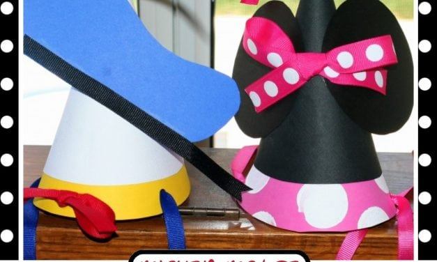 Mickey Mouse Party: Mickey Mouse Party Hats Tutorial