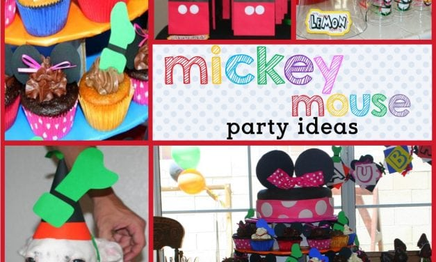 Mickey Mouse Clubhouse Birthday: Aubrey's Mouskabirthday
