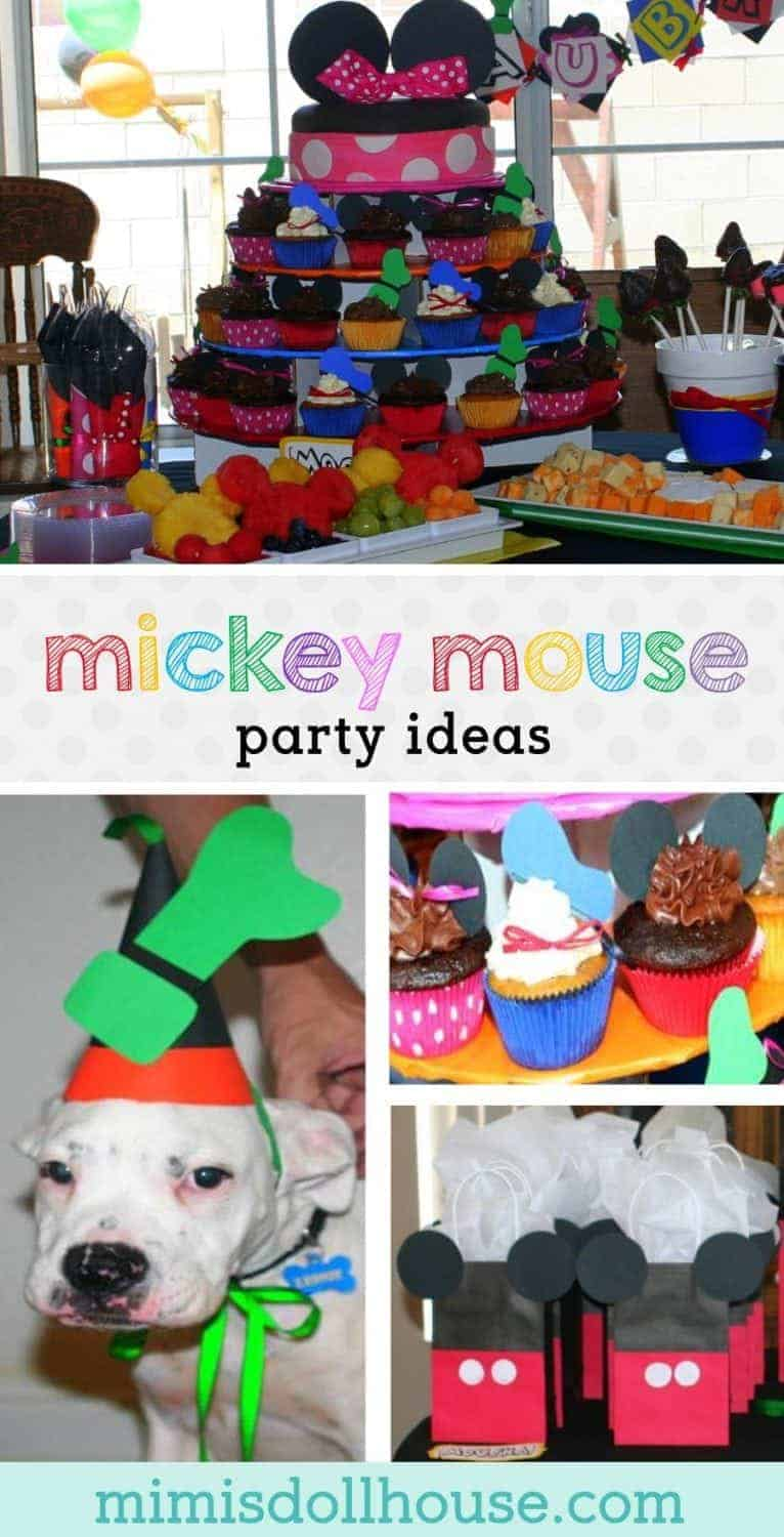 Mickey Mouse Clubhouse Birthday: Aubrey's Mouskabirthday. Do your kids love Mickey Mouse like mine?  Looking for ideas for a Mickey Mouse party?  Today I'm sharing this cute handmade Mickey Mouse party!  Be sure to check out all of our Mickey Mouse party ideas.