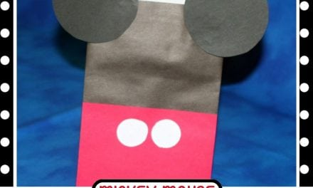 DIY Mickey Mouse Treat Bag