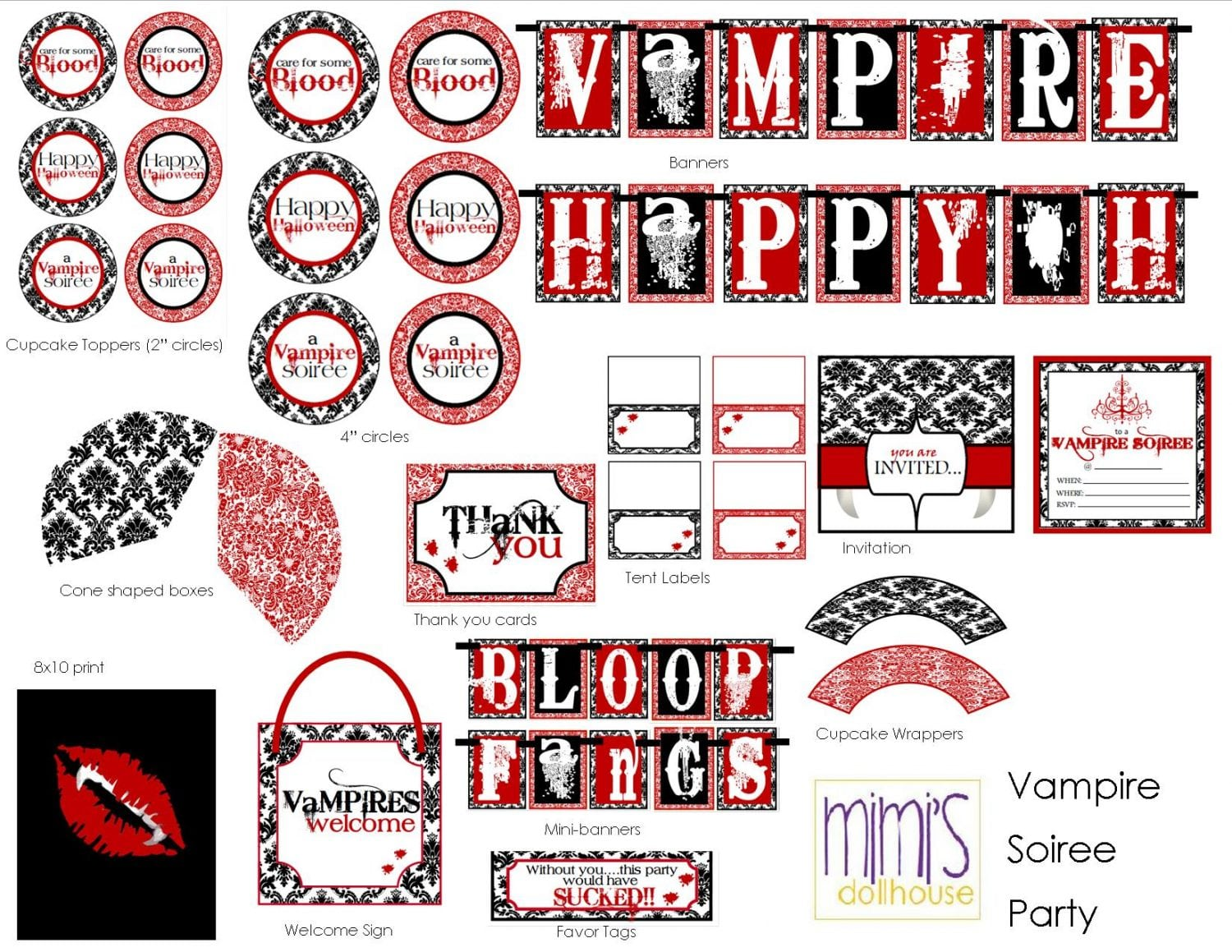{NEW IN SHOP} Vampire Soiree