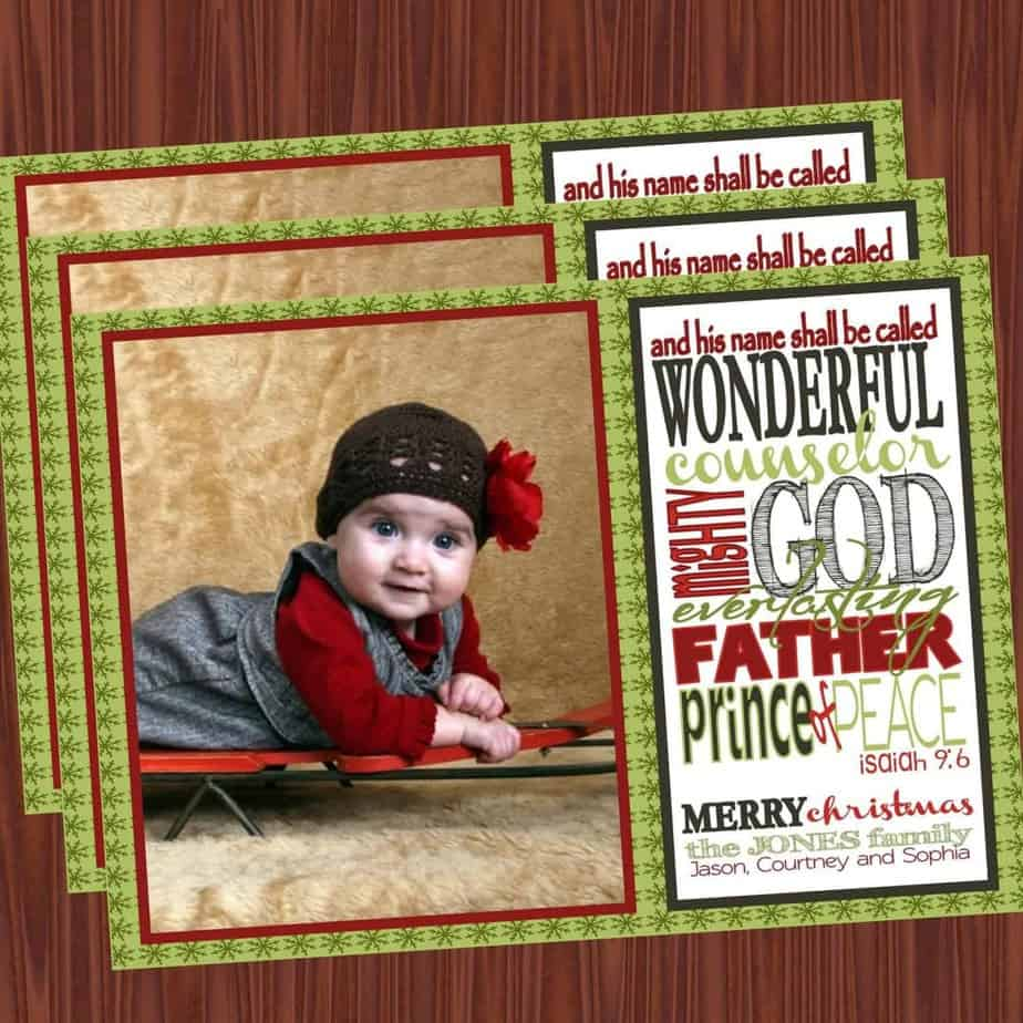 Christmas Cards: Show a little personality…