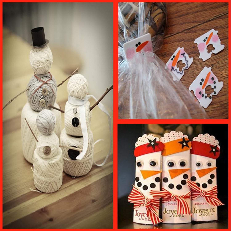 Snowman Crafts: That snowman is crafty…