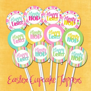 2 inch party circles-Easter Freebie-2 copy