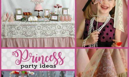 Vintage Princess Party: Tessa's Pretty Princess Party