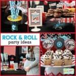 Rock n Roll Baby Shower: Rockabye Baby