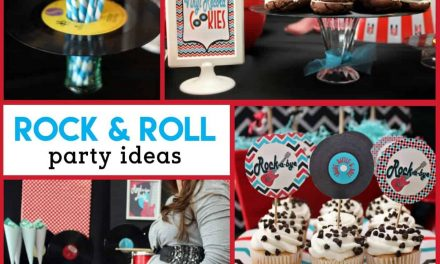 Rock n Roll Baby Shower: Rockabye Baby