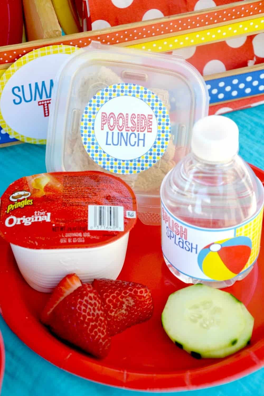 Pool party splish splash school 39 s out party mimi 39 s for Summer food party ideas