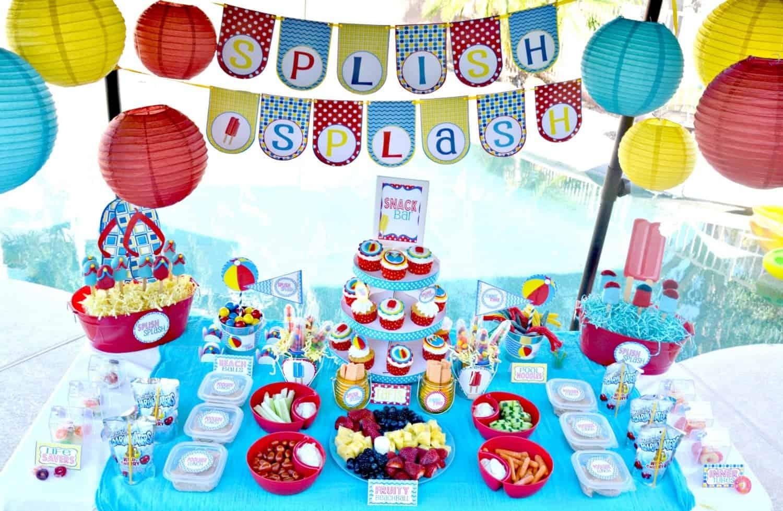 Pool Party: Splish Splash School's Out Party