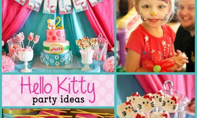Hello Kitty Party: Hailey's Hello Kitty Birthday