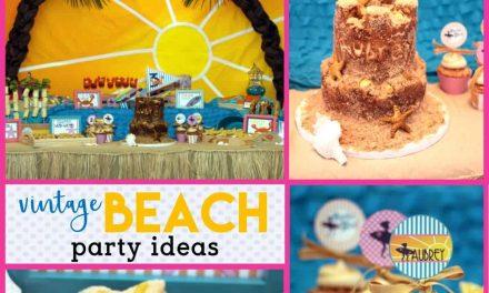 Vintage Beach Party: Lil' Miss Aubrey's Surf Bash