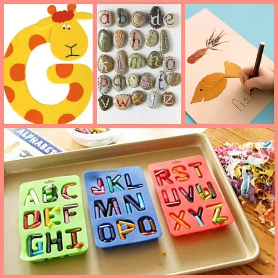 Back to School: Alphabet Crafts