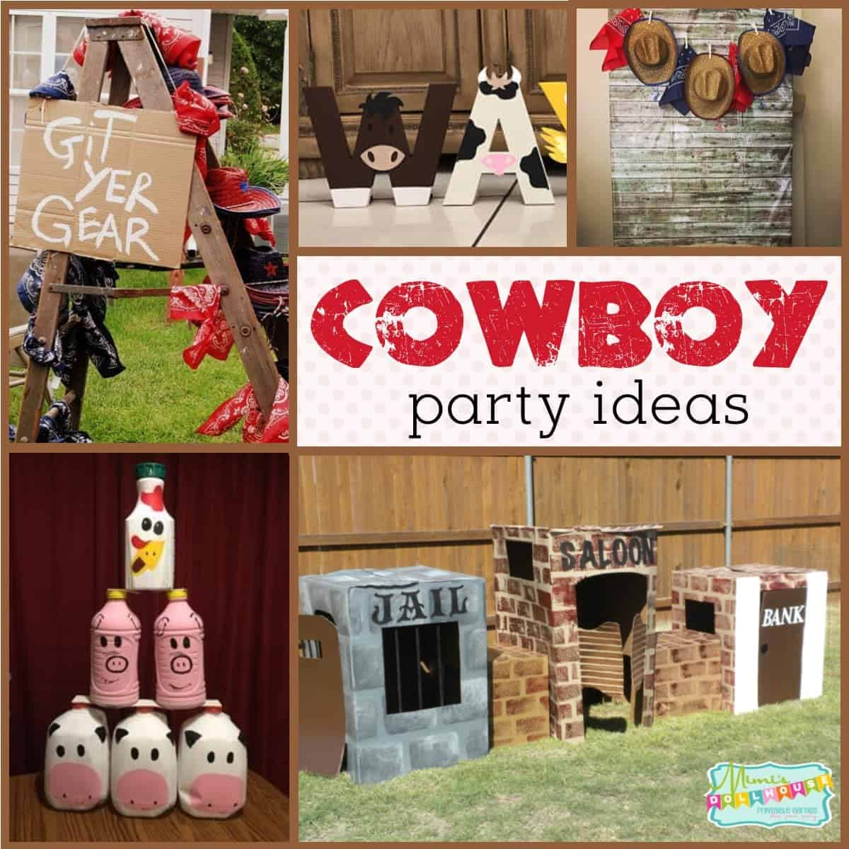 Cowboy Party Ideas How To Throw A Western Party Mimi S
