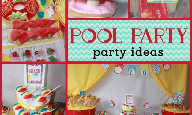Summer Pool Party Ideas: Splish Splash Bash