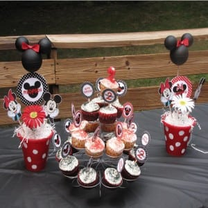 Mickey and Minnie Mouse Party: Happy Mouskabirthday Madyson
