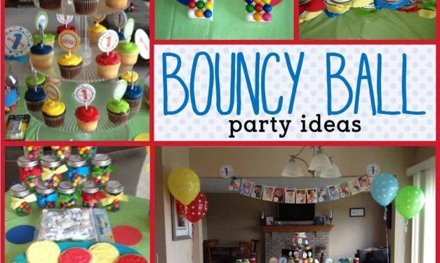 Polka Dot Party: Mickey's Bouncy Ball Party