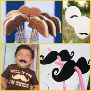 Mustache Party: Ideas for a Mustache Bash-Mimi's Dollhouse
