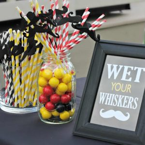 mustache wet whiskers