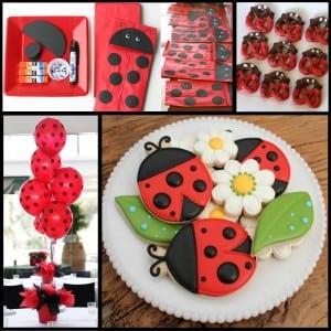 Ladybug Party: Little Lovebug Design and Ideas-Mimi's Dollhouse