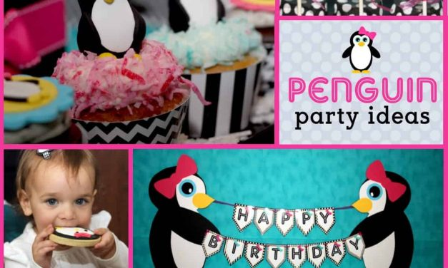 Penguin Party: My Pretty Little Penguin's Second Birthday