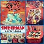 Superhero Party: Brock's Vintage Spiderman Party