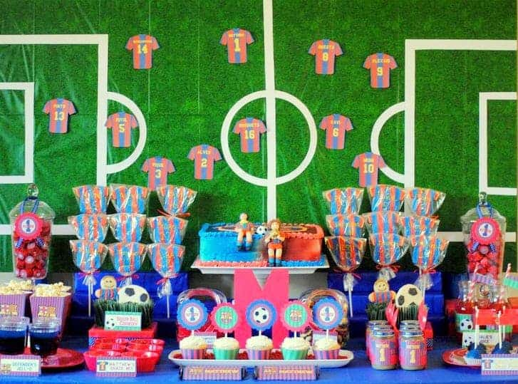 Barcelona Soccer Party Printable Collection - Mimi's Dollhouse
