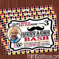 Mustache Bash Invite Pic