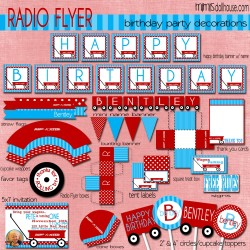 Radio Flyer Blue display file