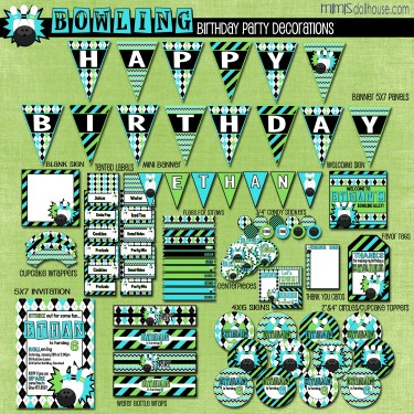 bowling blue display file