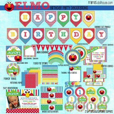 elmo display file blue