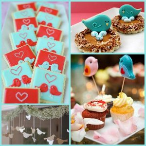 Valentine's Day: Love Birds Party Ideas-Mimi's Dollhouse