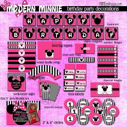 modern minnie display files