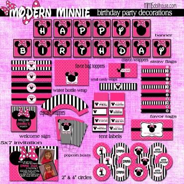modern minnie display files