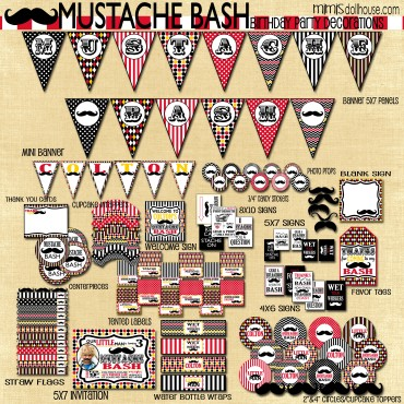 mustache bash display file