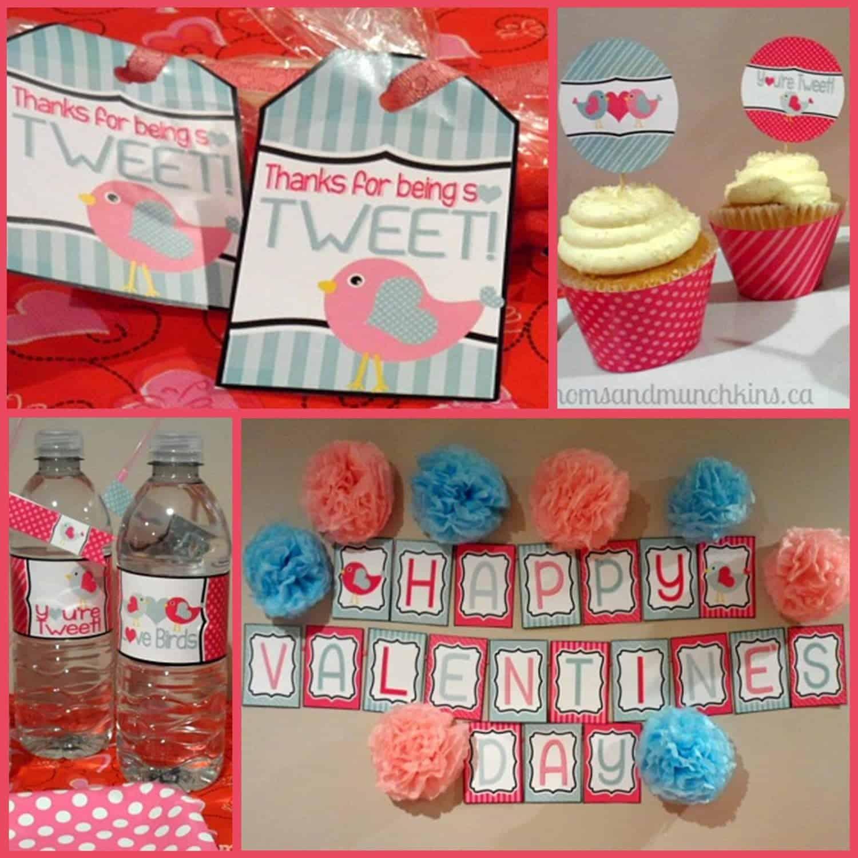 Valentine's Day: Love Birds Party Ideas - Mimi's Dollhouse