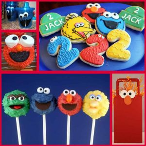 Sesame Street Party: Sesame Street Party Ideas-Mimi's Dollhouse
