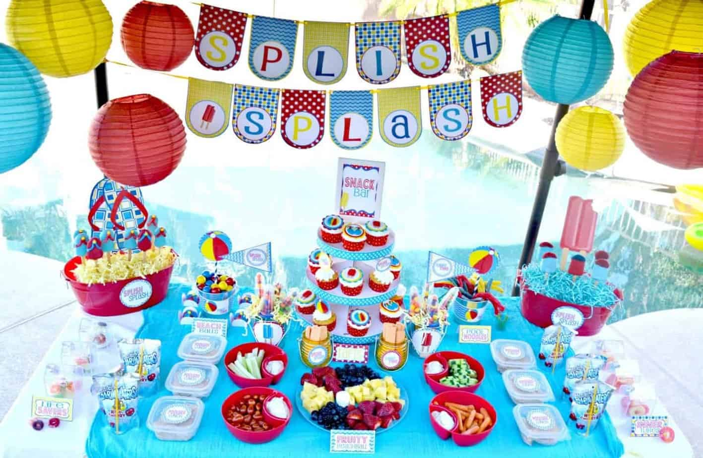 Pool Party Printable Collection Mimi S Dollhouse