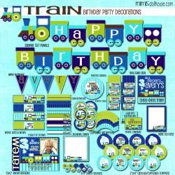 train display file blue