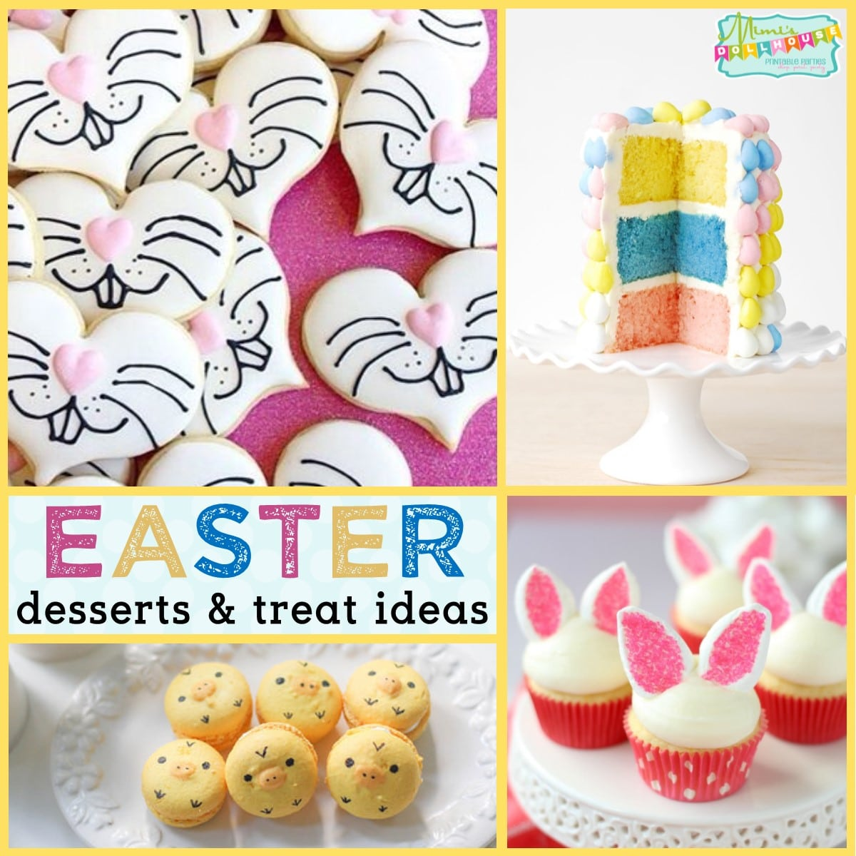 Easter: Easter Desserts and Easy Easter Treat Ideas - Mimi