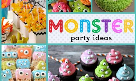 Monster Party: Monster Birthday Party Ideas and Desserts