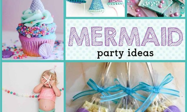 Mermaid Birthday Party: Mermaid Party Ideas