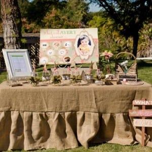 Vintage Birthday: Avery's Sweet 1st Birthday-Mimi's Dollhouse