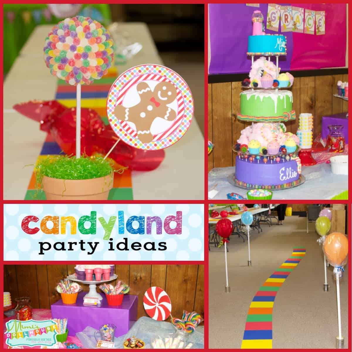Candyland Party Ideas Part - 41: Mimiu0027s Dollhouse